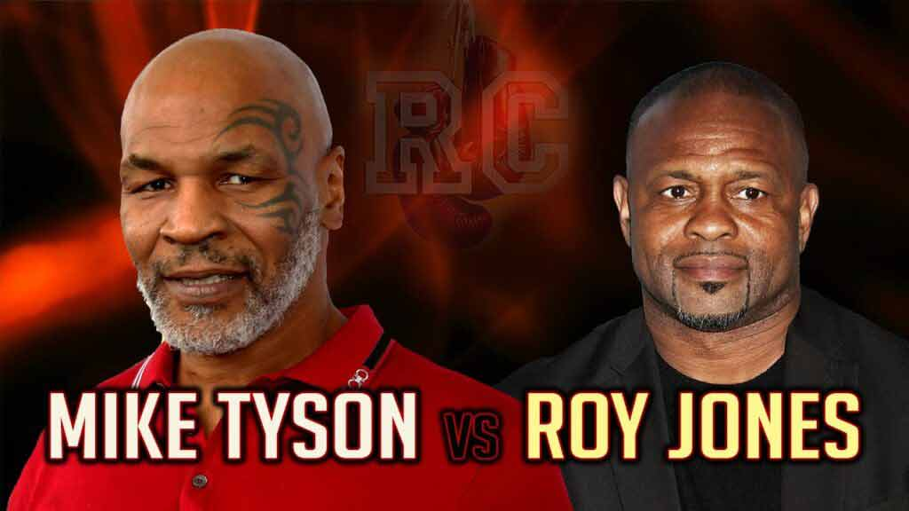 Tyson vs Jones: FIGHT Time, Date, Live, Boxing Mike Tyson vs. Roy Jones Jr., PPV, F2F