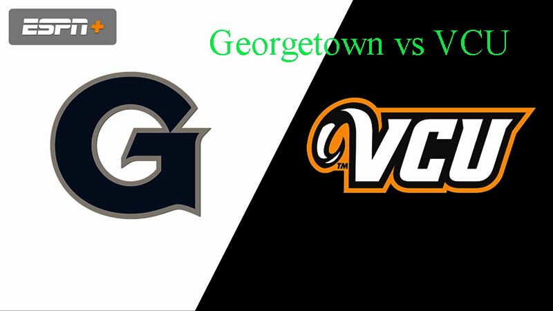 Georgetown vs VCU Live, United States College Soccer