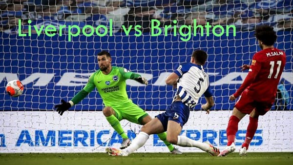 Liverpool Brighton Live, Soccer, English Premier League