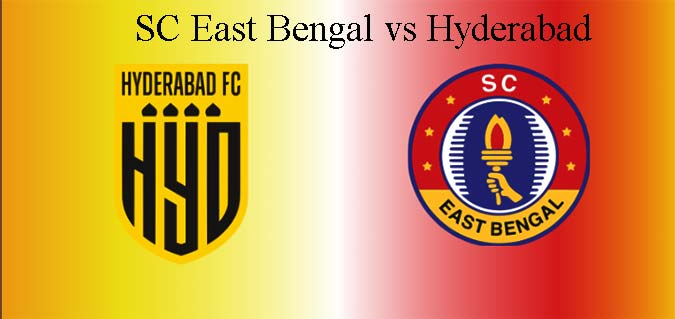 SC East Bengal vs Hyderabad Live, Soccer Indian Super League