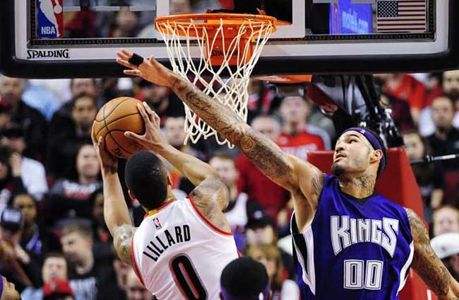 Kings vs Trail Blazers