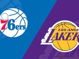 Lakers vs 76ers