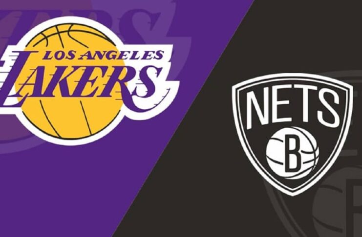 LAKERS vs NETS
